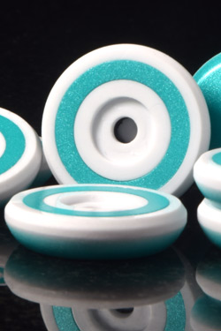 CLR Dynamic Custom - Pearl Teal and White