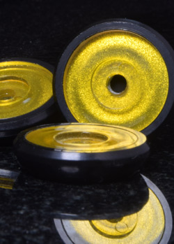 CLR Dynamic Bases - Black and Transparent Yellow Candy