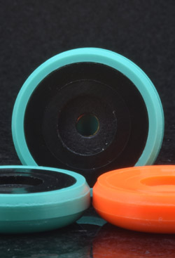 iBASE Storm Bases - Teal with Black Disks