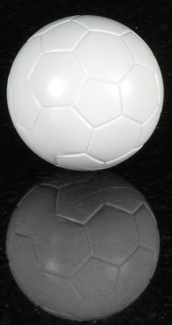 Top Spin Match Ball - White